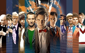 Picture look, smile, face, the series, actors, Doctor Who, men, Doctor Who, BBC