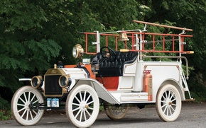 Picture Ford, Ford, rarity, fire truck, Firetruck, Model T, Model T