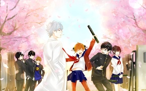 Picture All, Gintoki, Gintama, Kagura