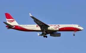 Picture Russian, a passenger plane, Tupolev Tu-204-100, medium, Red wings