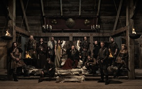 Picture Katheryn Winnick, Travis Fimmel, vikings, Clive Standen, Gustaf Skarsgård, George Blagden, David Pearse, Vladimir Kulich, …