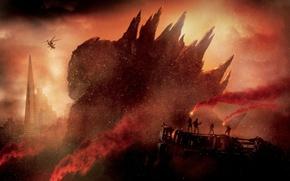 Picture Godzilla, Godzilla, 2014