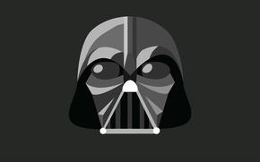 Picture minimalism, Star Wars, Star wars, Darth Vader, Darth Vader, illustration