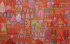 Picture Red square, Red square, Lyuba Sofronieva