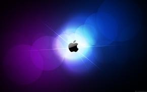 Wallpaper Apple, color, logo, MacRise, Mac