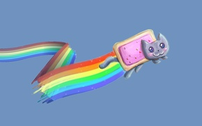Picture rainbow, Nyan cat, Nyan Cat