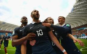 Picture France, Football, Brazil, France, Football, Sport, Player, Goal, Brasil, FIFA, FIFA, Player, Karim Benzema, Karim …