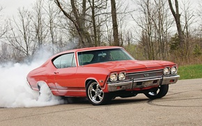 Picture Wallpaper, Chevrolet, Muscle, Car, wallpapers, 1968, Chevelle