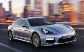 Picture Turbo, Porsche, speed, Panamera, Porsche, Panamera, turbo