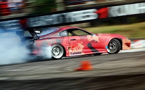 Picture turbo, supra, drift, smoke, toyota, tuning, power, race, boost