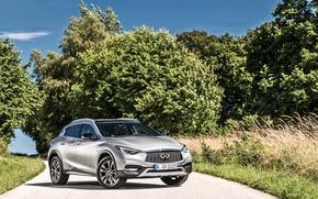 Picture Infiniti, Car, AWD, Silver, 2016, QX30, 2.2d