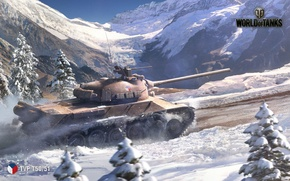Picture WoT, World of Tanks, World Of Tanks, Wargaming Net, TVP T 50/51