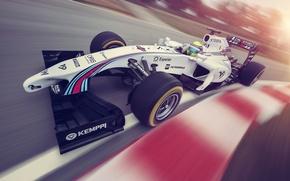Picture Formula 1, Martini, Massa, FW36, Williams F1 Team