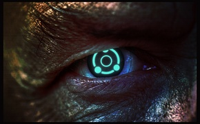 Picture eyes, mass effect, illusive man, Ghost Eye