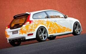 Picture wall, sport, tuning, Volvo, Sport, Heico, C30