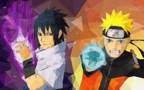Picture fire, game, Sasuke, Naruto, hat, smile, anime, mosaic, sharingan, ninja, hero, asian, Uchiha, manga, hokage, …
