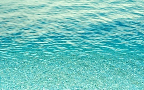 Picture sea, water, transparency, the ocean, the bottom, texture, background desktop