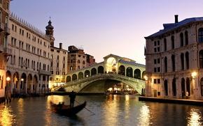 Picture bridge, Italy, Venice