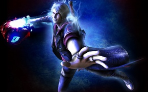 Picture hand, guy, nero, devil may cry 4