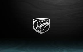 Picture Dodge, Viper, Speed, Black, Logo