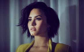 Picture brunette, singer, Demi Lovato, Demi Lovato
