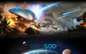 Picture strategy, greygoo, grey goo, Petroglyph Games, grey goo, game 2015, faction mucus