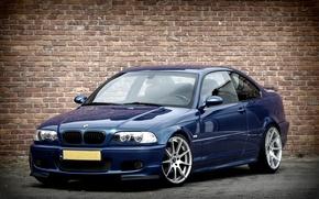 Picture BMW, Blue, BMW, E46