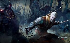 Picture sword, fantasy, the witcher, the Witcher, tumannik, Sapkowski