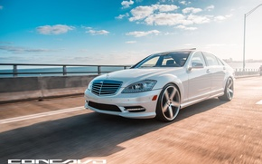 Picture machine, auto, optics, Mercedes Benz, auto, S550, Wheels, Concave