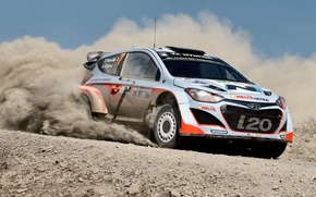 Picture Dust, Hyundai, Mexico, WRC, Rally, i20, Neuville