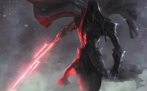 Picture Star wars, Lightsaber, Art, the dark side