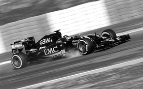 Picture Mercedes-Benz, Lotus, Formula 1, Romain Grosjean, E23