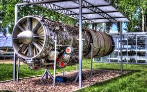 Wallpaper Museum, Jet engine, Jet engine