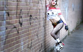 Picture girl, Hannah, Harley Quinn, Cosplay