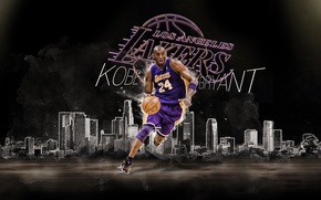 Picture The ball, Basketball, Los Angeles, NBA, Lakers, Kobe Bryant, Los Angeles, Player, Kobe Bryant, Lakers