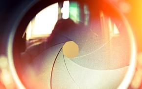 Picture reflection, lens, lens