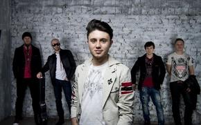 Picture music, wall, group, music, rock, guys, rock, pop, pop, Sergey Vusyk, Taras Poplar, Victor Rajewski, …