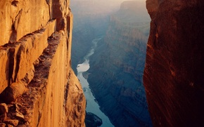 Picture landscape, the area, canyon