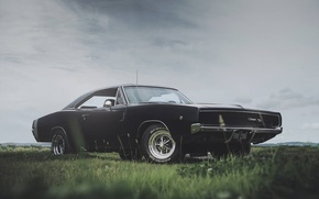 Picture photography, Dodge Charger, 1968, Roscoe Rutter