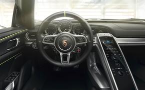 Picture Porsche, 918, Spyder Interior