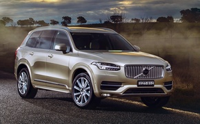 Wallpaper XC90, Volvo, 2015, Volvo, AU-spec, Inscription