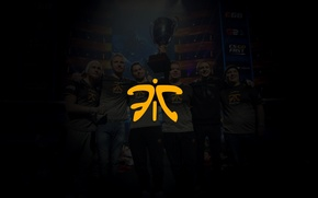 Picture logo, arena, team, exclusive, Cup, CSGO, fnatic, cs go, 2016, esports, fic, vuggo, dennis, composition:, ...