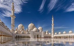 Picture Abu Dhabi, UAE, The Sheikh Zayed Grand mosque, Abu Dhabi, UAE, Sheikh Zayed Grand Mosque