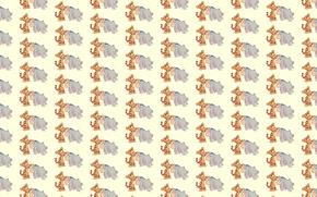 Picture background, mood, texture, children's, The Tigrusha, Eeyore