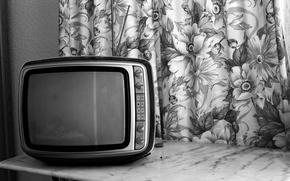 Wallpaper macro, background, TV