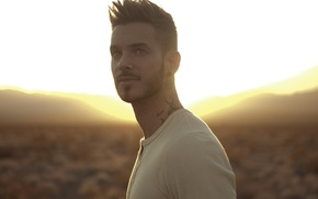 Wallpaper male, singer, rnb, matt pokora, the Frenchman, has the pursuit of happiness