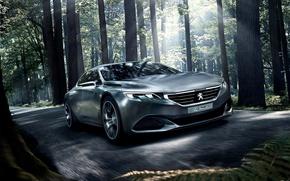 Picture Peugeot Cars, Peugeot Concept, Peugeot Exalt Concept Wallpaper, Concept cars, Peugeot Exalt Concept, Peugeot Wallpaper