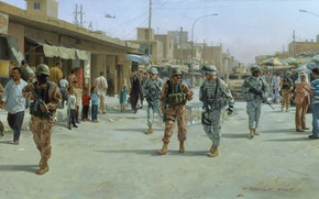Picture the city, war, 2005, Iraq, Mahmudiya, September 27