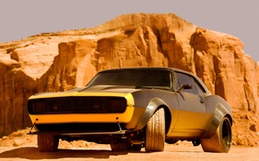 Picture Chevrolet, Camaro, car, muscle car, Bumblebee, bumblebee, Transformers 4