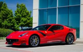 Picture Ferrari, Red, F12, TDF